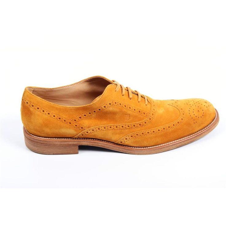 Yellow 45,5 EUR - 12 US Tod\s mens brogue shoes XXM0QM0G370RE0G812