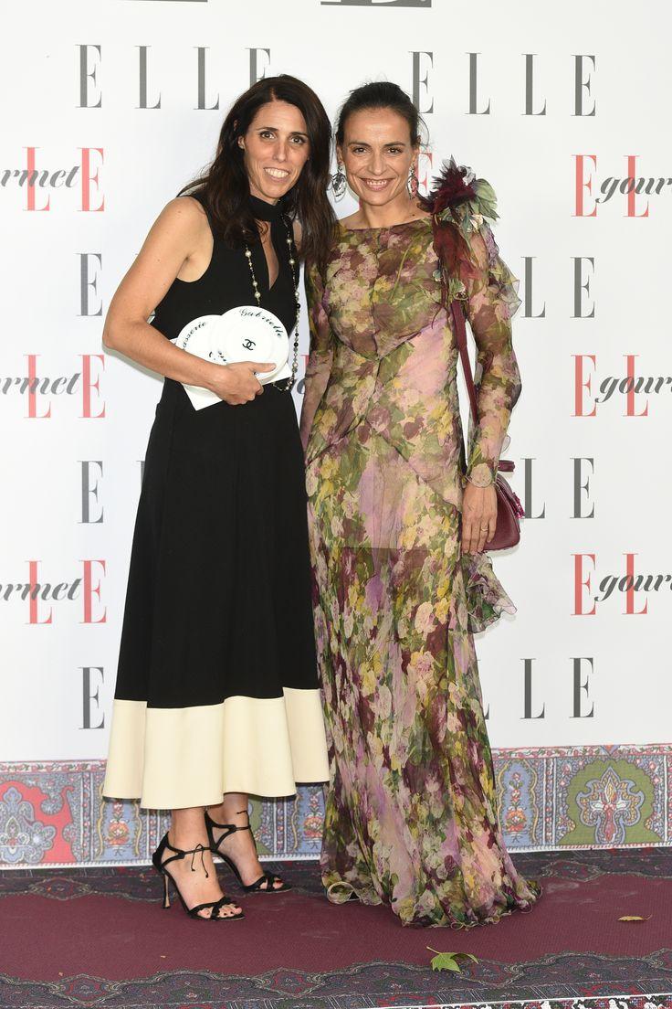Benedetta Poletti in Chanel & Inma Jiménez in Alberta Ferretti Bridesmaid Dresses, Wedding Dresses, Alberta Ferretti, Awards, Chanel, Fashion, Gourmet, Style, June