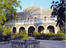 Pilgerhaus - Catholic Guest House near Sea of Galilee http://www.heilig-land-verein.de/engl/html/pilgerhaus_tabgha.html
