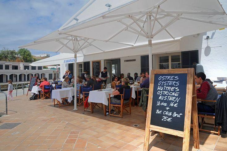 S'Amadora restaurant, Ciutadella collage