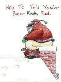 Funny Christmas Joke Pic - How to tell you've been really bad | Funny Joke Pictures