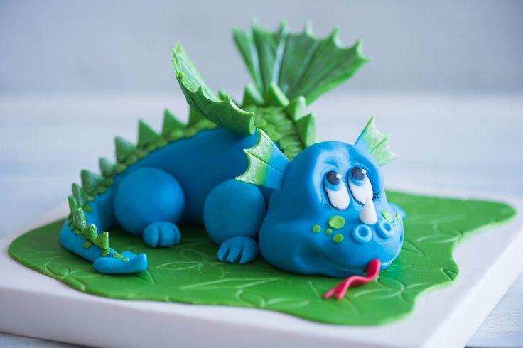 Детский 3Д торт- Дракоша,Выполненный из шоколадной пасты. Торты на заказ. Торт на День Рождения мальчика. Торт из мастики.  Объемный торт. Кондитерская Tiramisu https://vk.com/tiramisucake Cake@tiramisu.ru