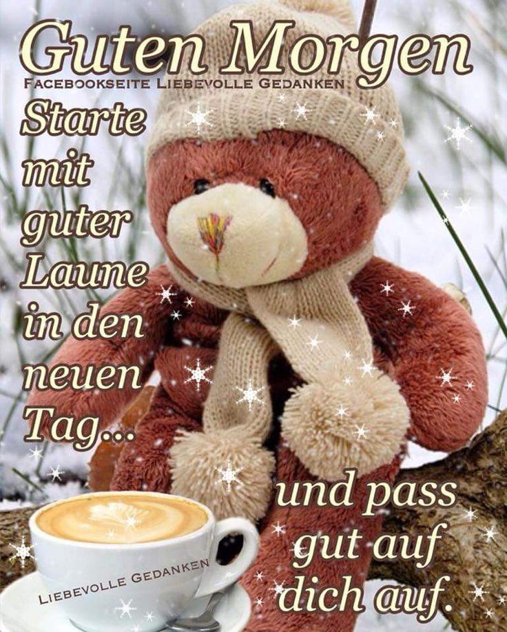 Guten-Morgen-Gruß in der kalten Jahreszeit ⛄