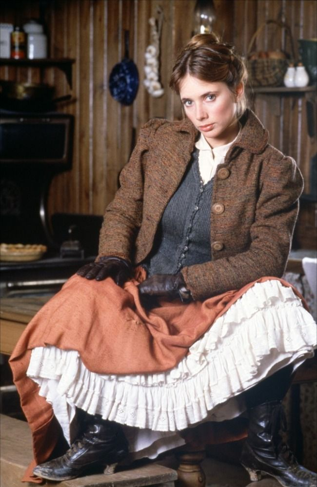 Rosanna Arquette in Silverado (1985) She actually had quite a bit of her contribution cut from the movie as it didn't help the story line.