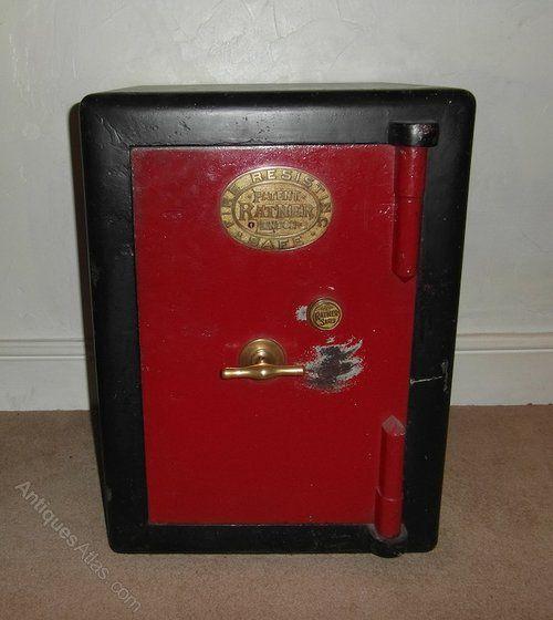 Antique Vintage RATNER Bank Safe