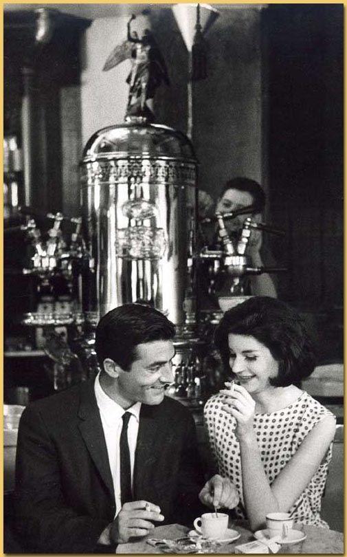 Caffe Reggio in New York City. 1966