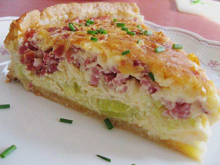 Chefkoch.de Rezept: Lauchkuchen