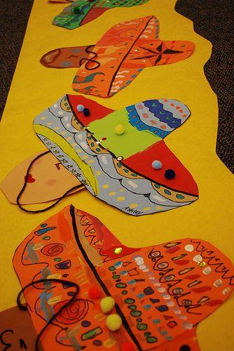 Sombreros by paintedpaper, via Flickr