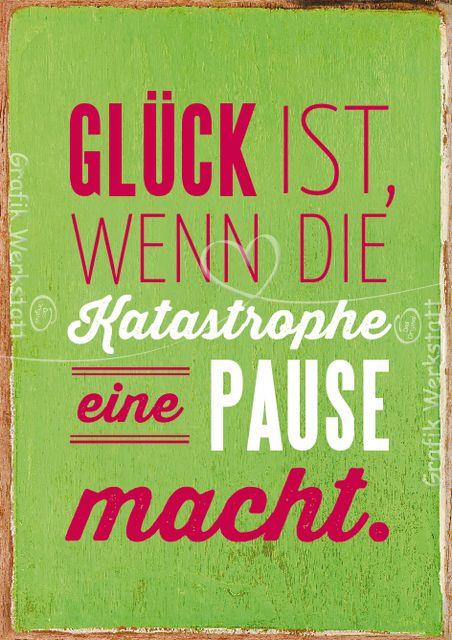 Glück ist, ....- Grafik Werkstatt Bielefeld