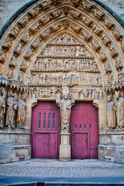 Reims Cathedral, Reims, Champagne Region, France