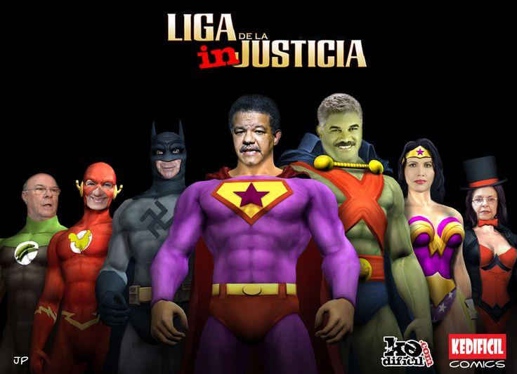 La Liga de la Injusticia.