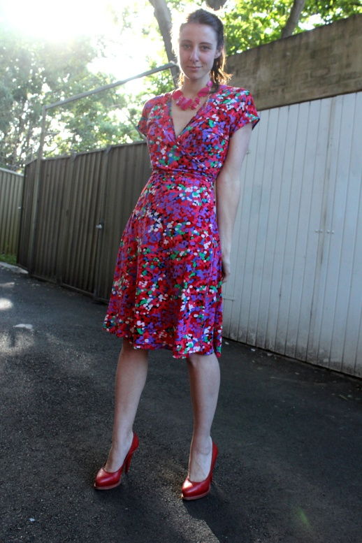 Frocktober, day twenty nine: red + pink redux - another Leona Edmiston favourite.