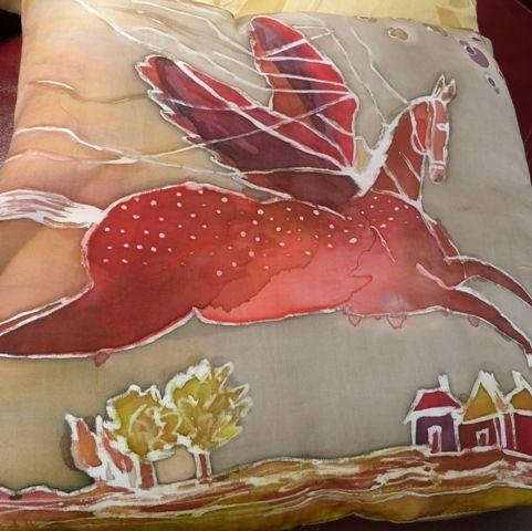 first silk pillow