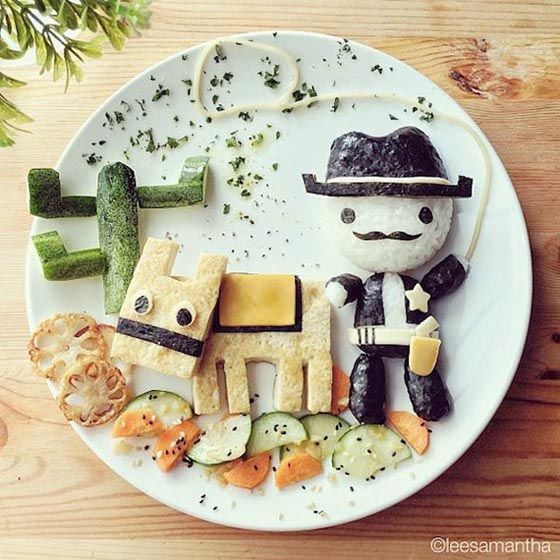 Incredibly Adorable Food Art by Samantha Lee