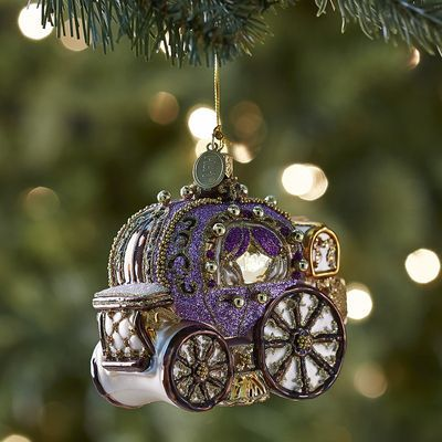 European Glass Carriage Ornament from Pier1