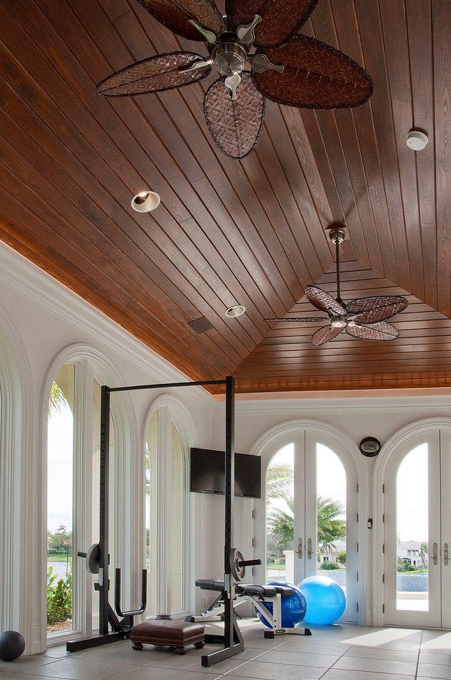 Wooden ceiling fans