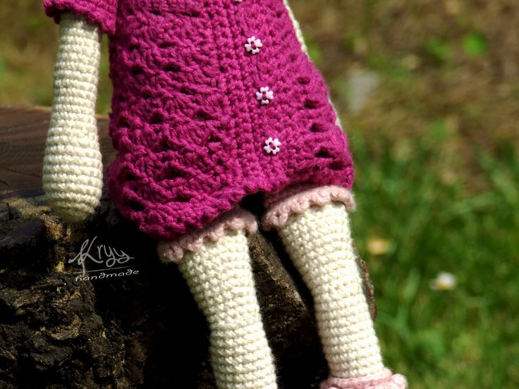 Willenein bunny's little sister's cloth #amigurumi