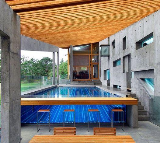 acrylic pool window