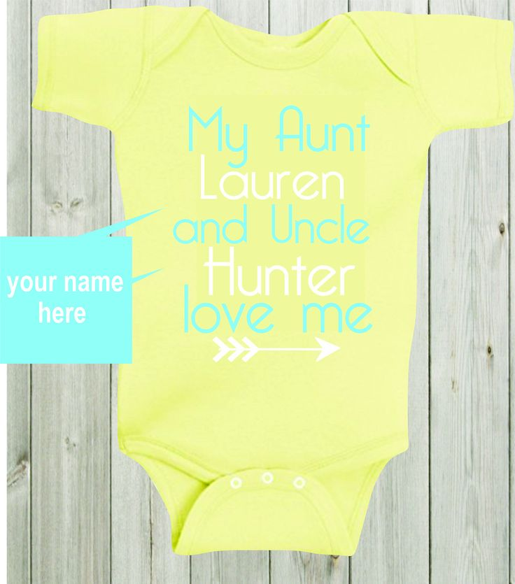 208 best baby bodysuit design images on pinterest baby bodysuit my aunt and uncle love me baby shirt custom shirt personalized baby bodysuit gender neutral baby negle Images