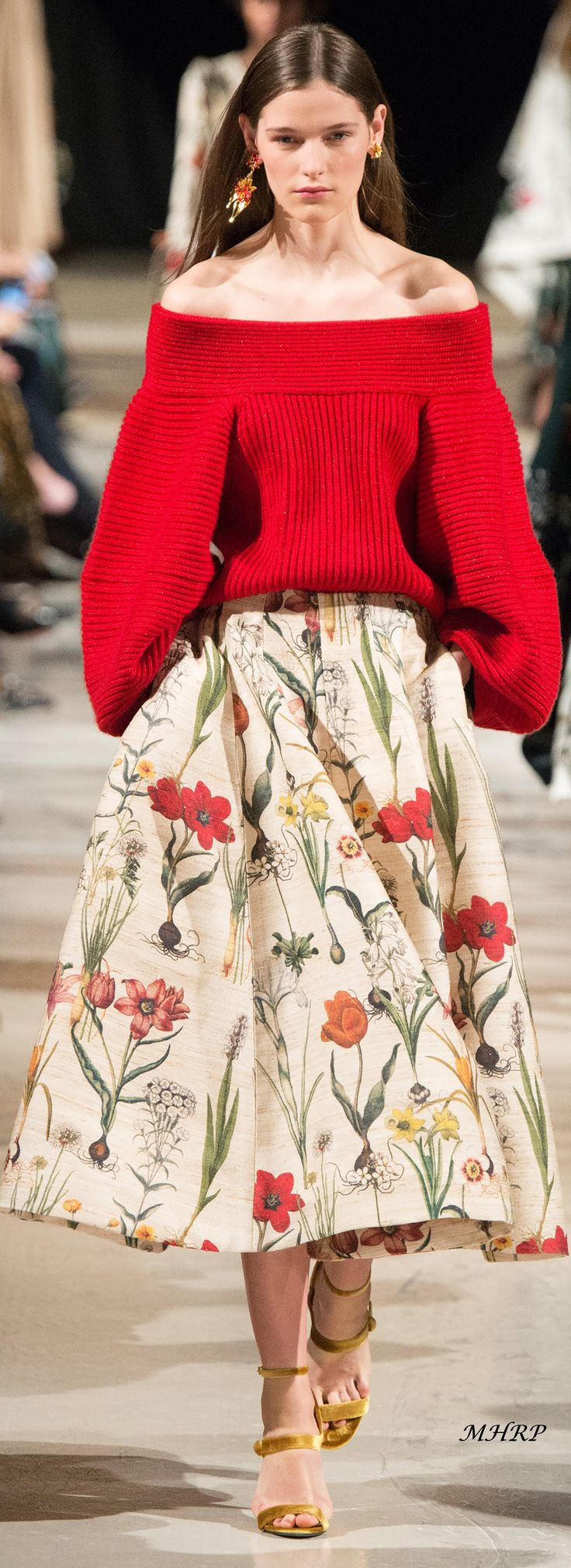 Oscar de la Renta Fall 2018_Vogue/Runway