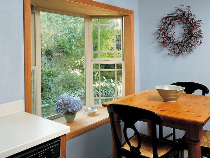 Inside View Of Milgard Tuscany Bay Window With Internal Grids Window Inspiration Amp Ideas