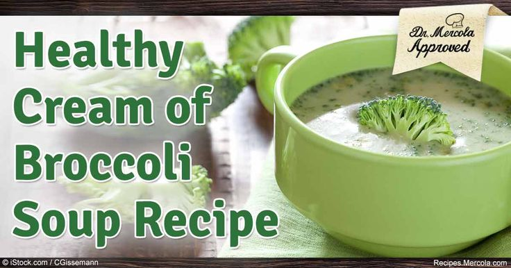 Children and adults alike will enjoy this delicious and healthy broccoli soup…