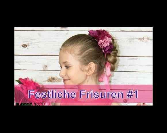 Festliche Frisuren, Nr. 1 [Kinder, Konfirmation, Hochzeit, Kommunion … | Great Frisuren – Best Models