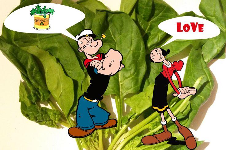 Дремлющая сила шпината