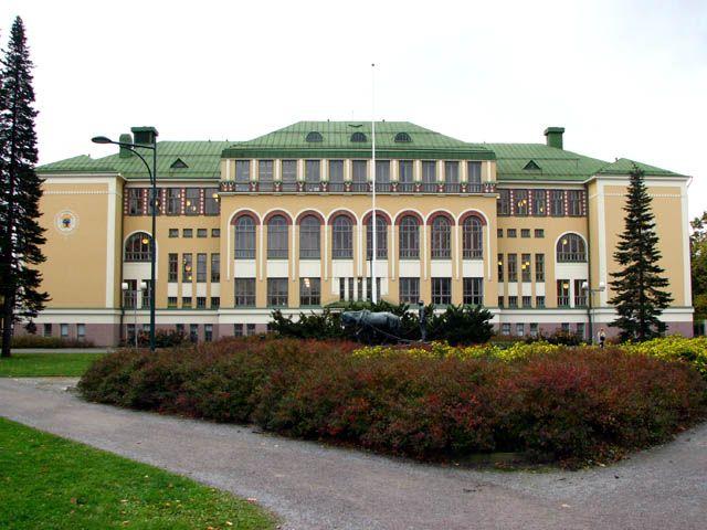Cygnaeuksen kansakoulu ja puisto, Pori - My elementary school Cygnaeus in Pori, Finland
