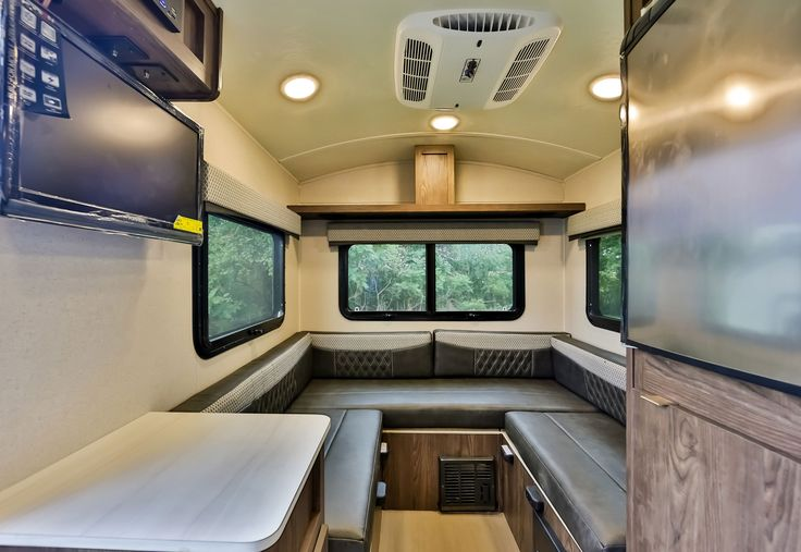 """Rockwood Geo Pro Travel Trailers The Rockwood Geo Pro line of travel trailers are for those campers that value being environmentally conscious and have chosen to drive today's more fuel efficient """"crossover"""" vehicles and smaller SUVs. With floor plans that weigh within the towing capacity of these..."""