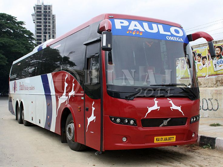 Paulo Travels provides the bus ticket booking to the major cities, Book the tickets for Paulo travels at ticket goose at the best fare with best service