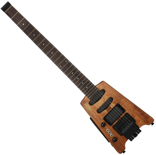 Hohner G3T LH Left Handed Lefty Electric Guitar Headless Steinberger Style Oil #Hohner