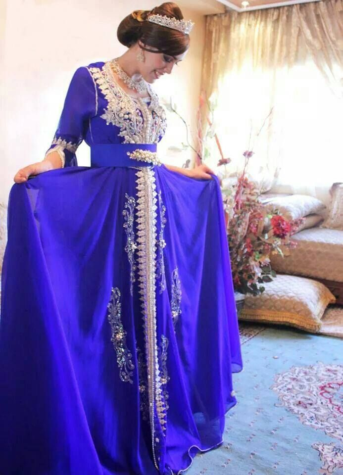 Moroccan Caftan and cute crown