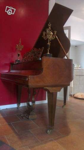 Piano A. Guillot, 1/4 queue, limite crapaud Instruments de musique Seine-Saint-Denis - leboncoin.fr
