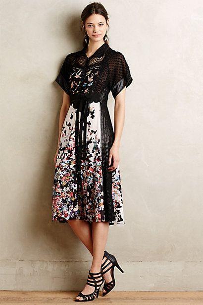 Monarch Midi Dress #anthropologie