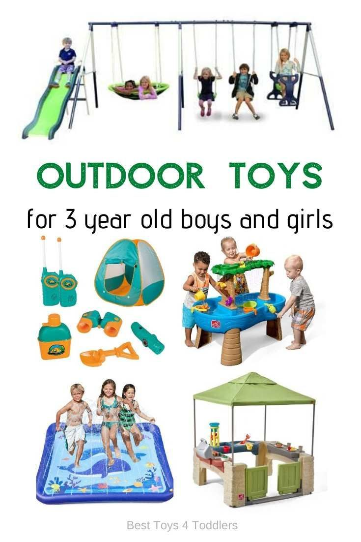 Top 10 Outside Toys For 3 Years Old Boys And Girls Best Outdoor Toys 3 Year Old Toys Outdoor Toys