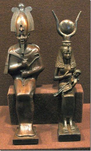 Osiris, Isis y Horus...una triada fantástica!