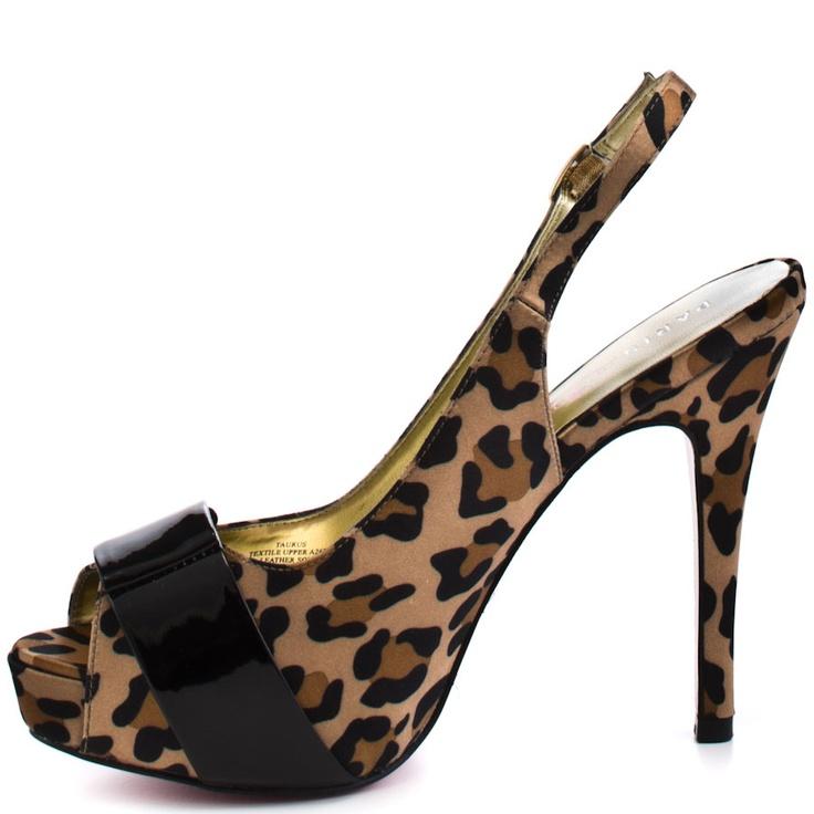 Taurus - Leopard Satin  Paris Hilton