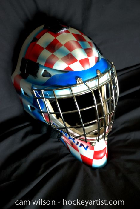 115 Best Images About Goalie Mask Airbrushing On Pinterest