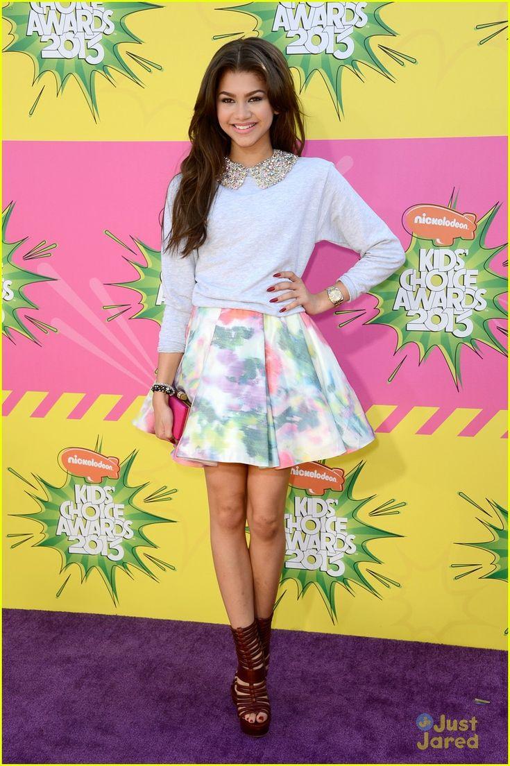 Zendaya Kids Choice Awards 2013 Red Carpet Disney
