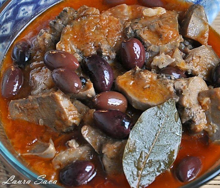 Limba cu masline | Retete culinare cu Laura Sava