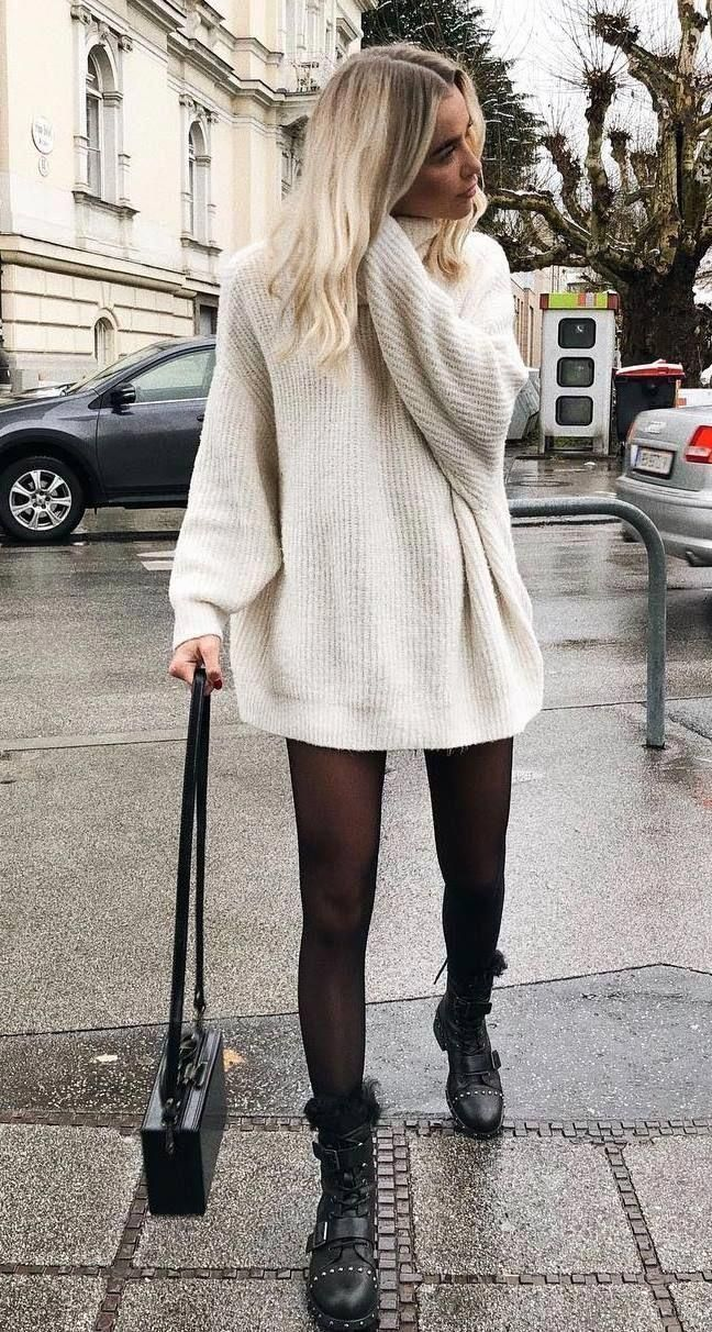 19 Schicke Pullover Outfit Ideen