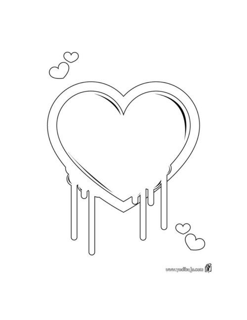 Dibujos Bonitos Para Colorear Amor Dibujos Bonitos De Amor
