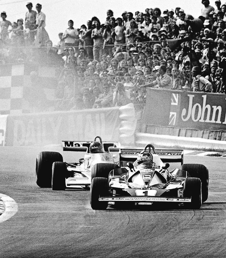 gearheads and monkeywrenches | amjayes: That summer day. 1976 British GP. Lauda vs Hunt