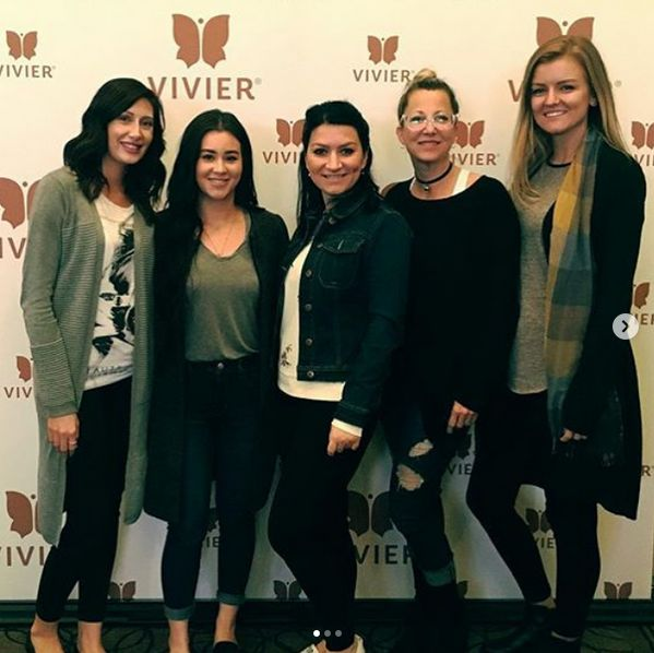 An informative day of interactive training with @vivierskincare.