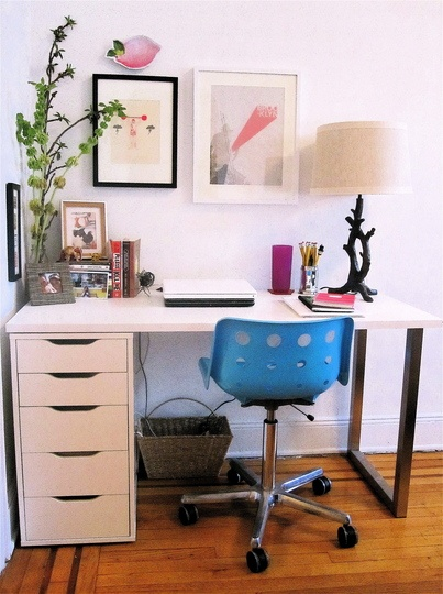 2. Regarding The Desk, The Drawers And Chrome U Leg Are Also Ikea