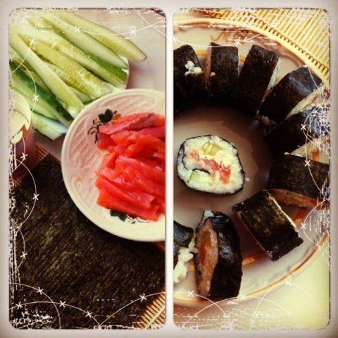 Готовить в удовольствие: Рис с рыбой, или просто роллы