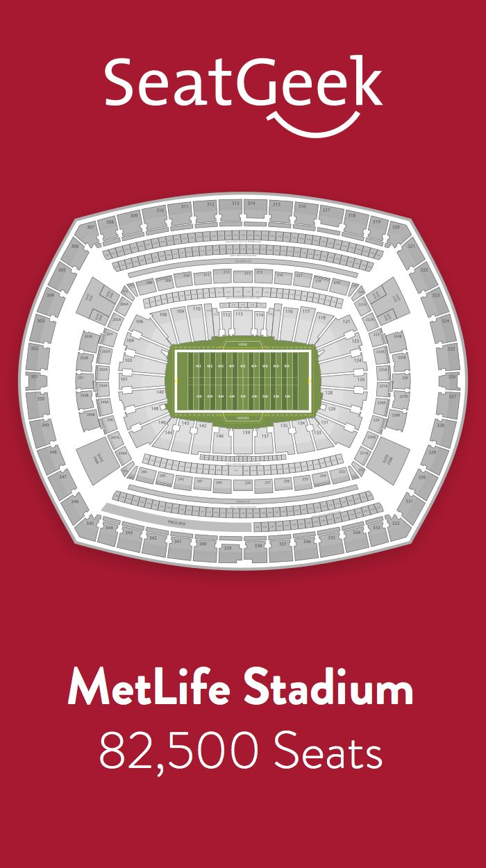 Find the best deals on New York Giants tickets and know exactly where you'll sit with SeatGeek.