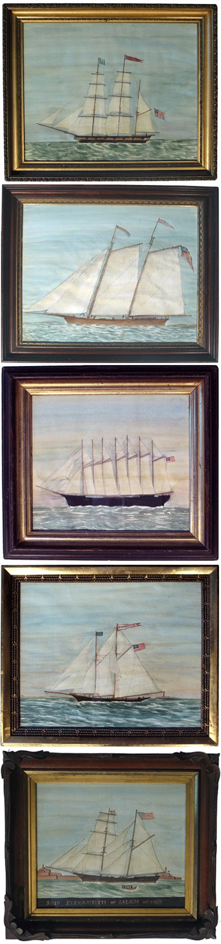 Love these vintage ship paintings by Mary Maguire! via @jealouscurator cc @bellamakalani