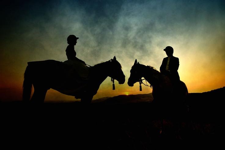 Sunset rider by fotografescu